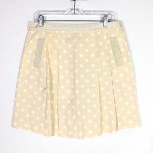 J.Crew Spring Dots Nicky Skirt